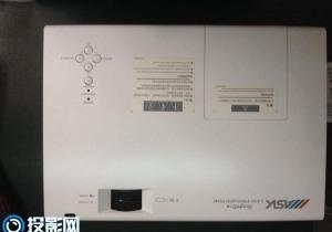 投影仪发热烧坏:ASK投影机C3360拆机维修电源的方法