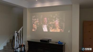 峰米WEMAX ONE激光电视100寸大屏3-4米观看距离体验非常棒